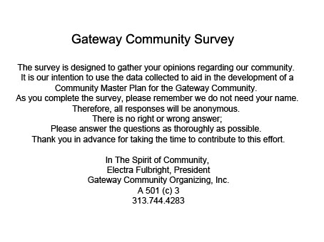 Survey Information